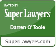 Rated by Super Lawyers - Darren O'Toole